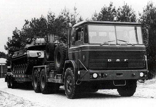 DAF FTT 3500 - Daf Militaire Voertuigen
