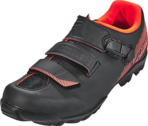 Shimano Shimano Men Me300 Spd Mtb Cycling Shoe Black Red Size