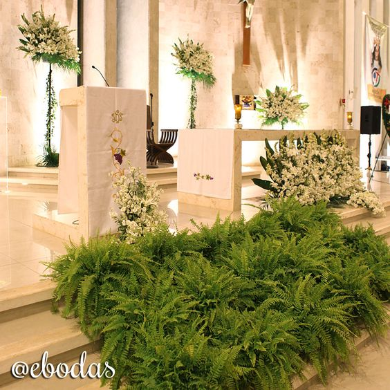 17 Best Images About Fioreria Oltre Wedding Ceremonies On: Cuando Te Vas A Casar En Una Iglesia Grande, Una De Las