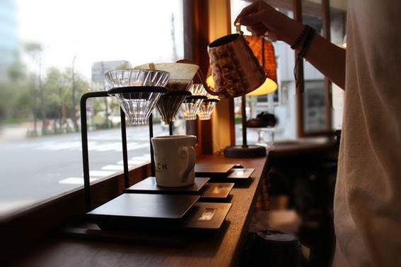 #Autumn. A great season for #filtercoffee #hario