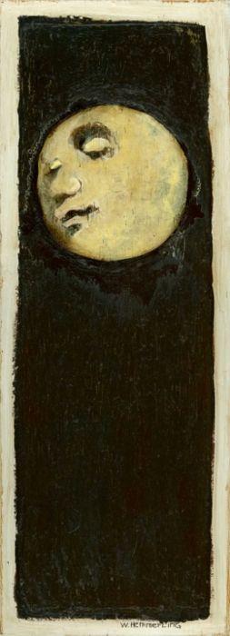 blueruins:    Full Moon by William Hemmerling