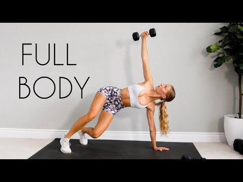 20 Min Full Body Workout At Home Strength Youtube Fitness Body Full Body Workout Strength Workout