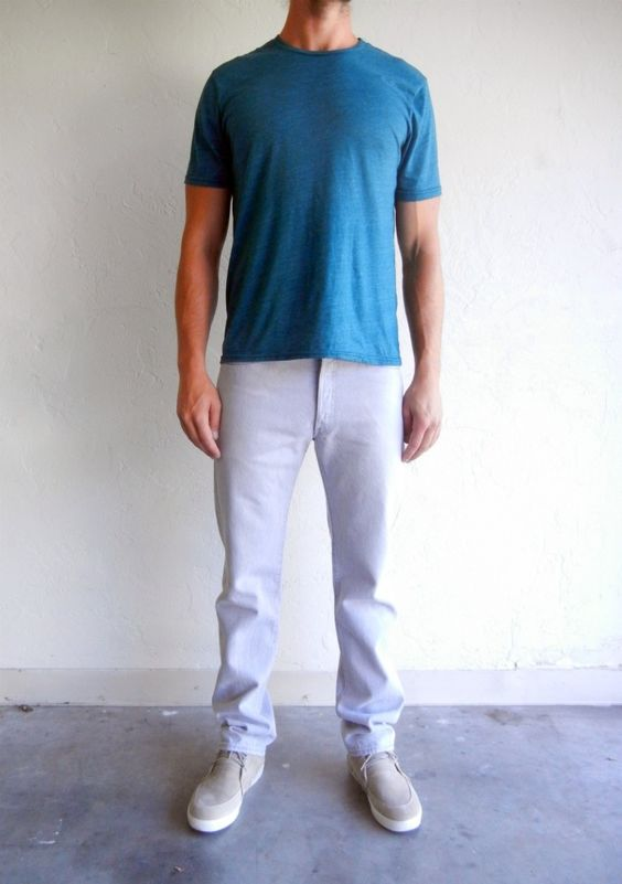 Light Grey Relaxed Levi's 501 Jeans $68.00