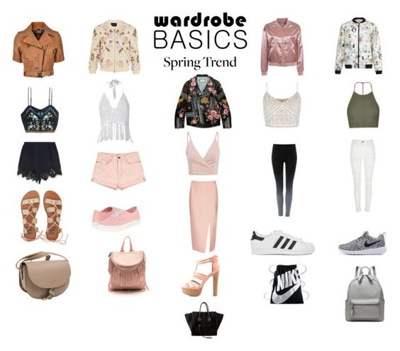 """""""Wardrobe Basic - Spring Jacket"""" by aribear-17 ❤ liked on Polyvore featuring Gucci, Needle & Thread, NLY Trend, Belstaff, Gyunel, Topshop, Label Lab, River Island, Chloé and Current/Elliott"""