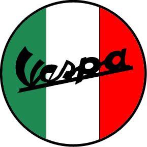 Logo Vespa Italy | Cool type | Pinterest | Galleries ...