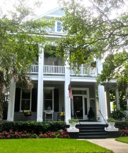 Old southern homes mobile alabama and southern homes on for Southern houses with porches