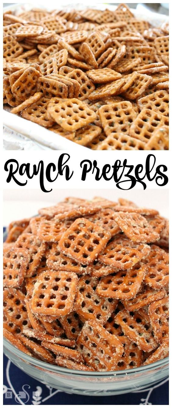 Ranch Pretzels - Butter With A Side of Bread