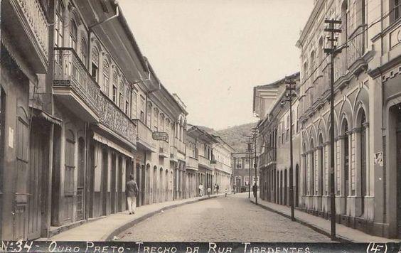 Rua Tiradentes - Ouro Preto