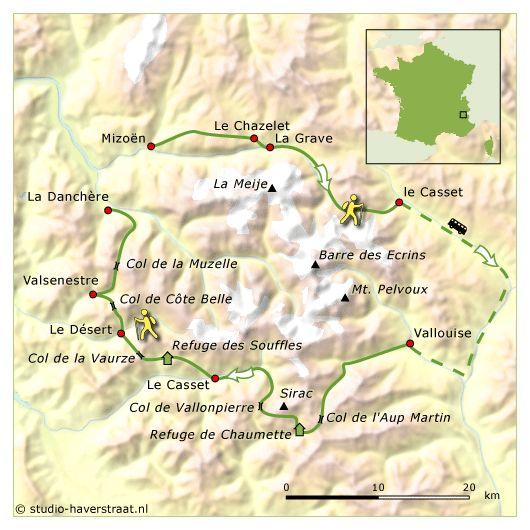 Ecrins wandelvakantie | wandelreis langs gîtes d'étape en berghutten
