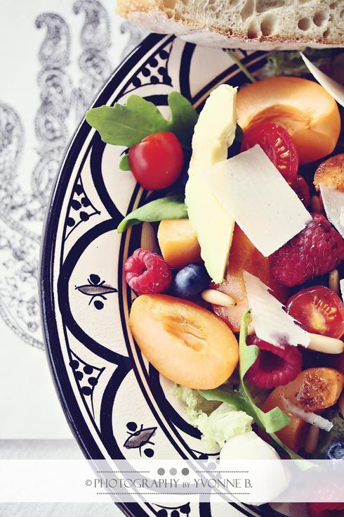 colorful salads of summer