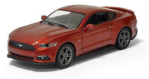 Ford Mustang 2015 Model Car Diecast Metal Scale 1:36 Opening Doors RED