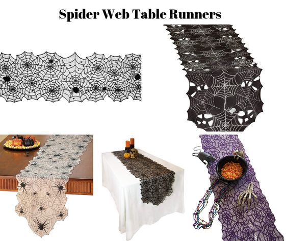 Spider Web Table Runners