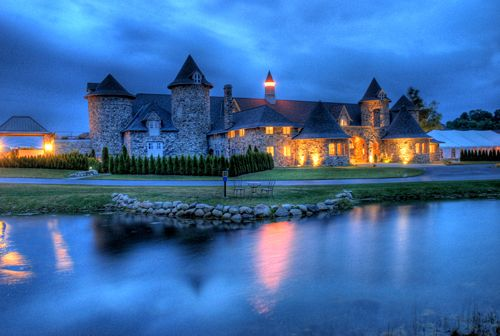 What this is in the U.S.? looks so magical!   I wanna go! Queen's Castle in Charlevoix, Michigan