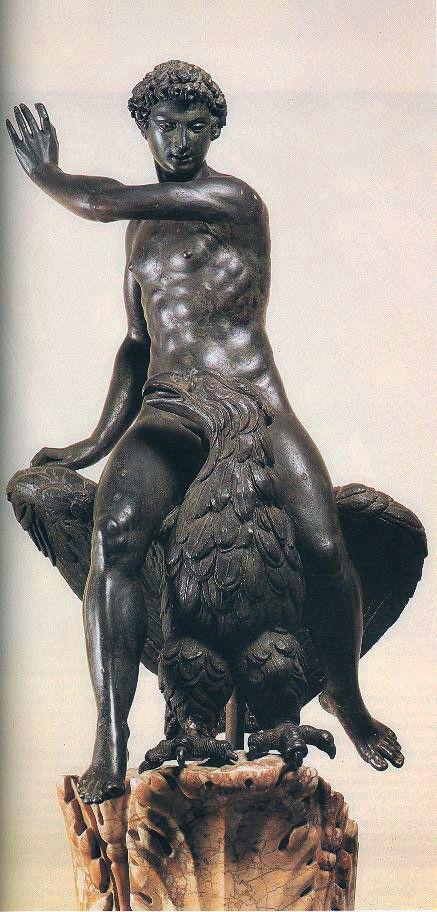 Benvenuto Cellini - Ganymede and the Eagle. Museo Nazionale del Bargello, Florence