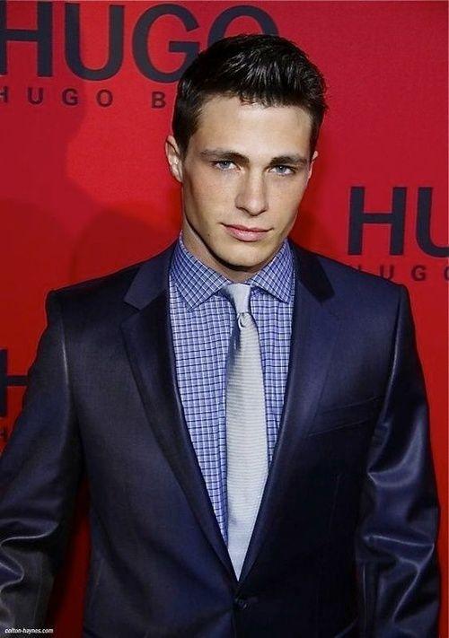 Colton Haynes suit
