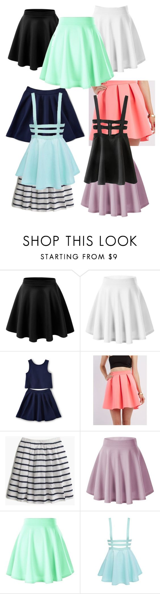 """""""IGNORE!"""" by one-of-those-nights ❤ liked on Polyvore featuring Charlotte Russe, J.Crew and WithChic"""