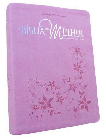 A Bíblia Da Mulher - Violeta Luxo/média - Frete Grátis - R$89,89