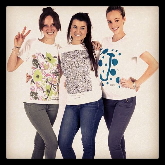 The My Catwalk girls show us how they wear their #JeansforGenes designer t-shirts! All shirts $29.95 - proudly supporting Children's Medical Research Institute - @mycatwalk- #webstagram