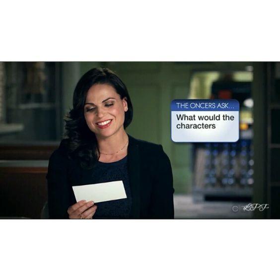 OMG... Her laugh  Follow me on vine : LanaParrillaPerfect ❤ #LanaParrilla #LanaDiBlasio #ouat #LanaMariaParrilla #EvilRegals  #EvilRegalFamily #Mamaregal  #OnceUponaTime #Oncers