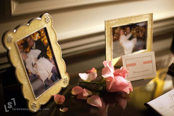 Pink and Brown Wedding Details by asofterimage, via Flickr