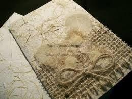 Resultado de imagem para modelo de cartao de papel reciclado