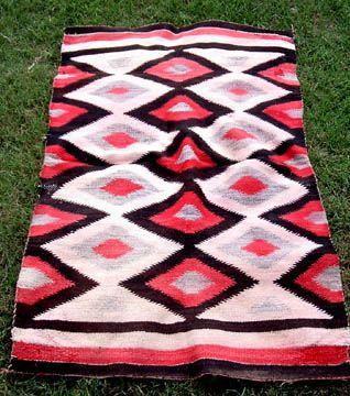 Navajo Saddle Blanket Native American Craft Pinterest