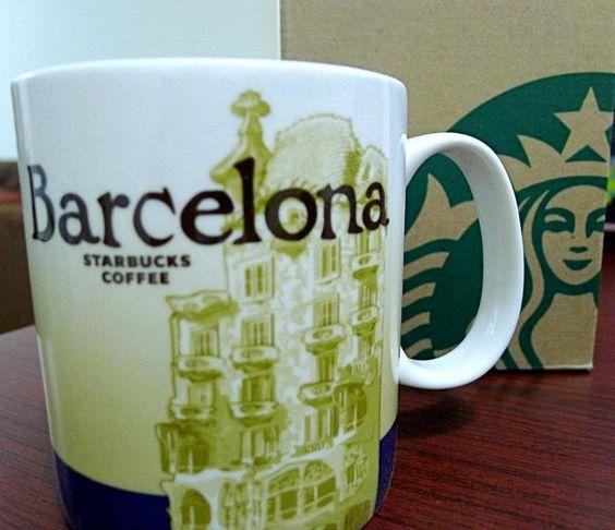 Starbucks mug barcelona starbucks tumblers and mugs for Mug barcelona