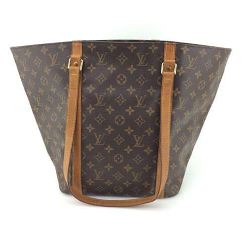 AUTH Louis Vuitton Vintage Brown Monogram Canvas Leather Sac Shopping Tote Bag https://t.co/iataCjObja https://t.co/223q2W9oM1