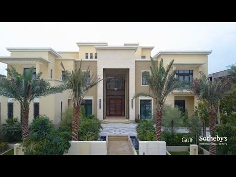 Most Beautiful Mansion In Dubai اجمل فيلا بتشوفها في حياتك Youtube Mansions House Styles Architecture