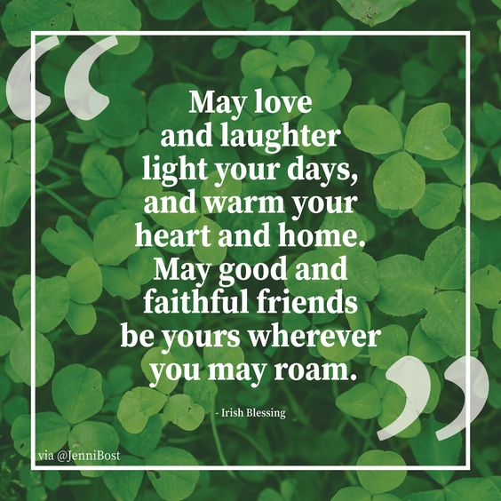 """It's St. Patrick's Day Week! I am part Irish, though… not a large part, but for some reason that small bit and the fact that I love the color green has put this holiday in a special place in my heart. So today, for the Quote of the Week I selected an Irish Blessing. """"May [...] The post QOTW: Irish Blessing appeared first on A Well Crafted Party."""