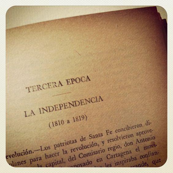 """""""Tercera época. La independencia"""""""