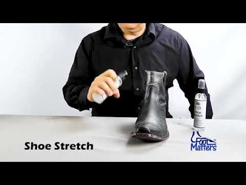 Footmatters Professional Boot Shoe Stretch Spray Softener Stretcher For Leather Suede Nubu Youtube How To Stretch Shoes Shoe Boots Leather