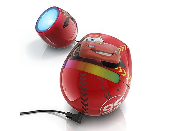 playful and designed for kids philips disney livingcolors micro cars led lamp brings a world of color to their rooms rev up their dcor - Philips Lampe Living Colors
