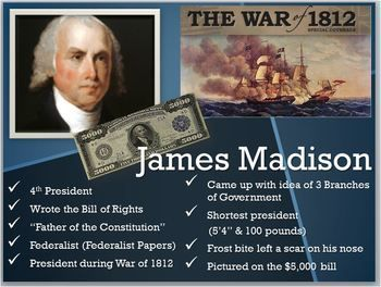004 Pres.James Madison PPTBill of Rights/Father of
