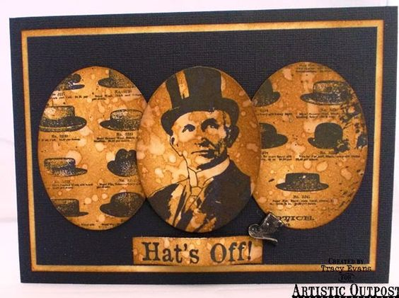 Artistic Outpost: Hat's Off, Hats Background