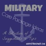 Care Packages For Navy Sailors- Ideas For Encouraging Your Man