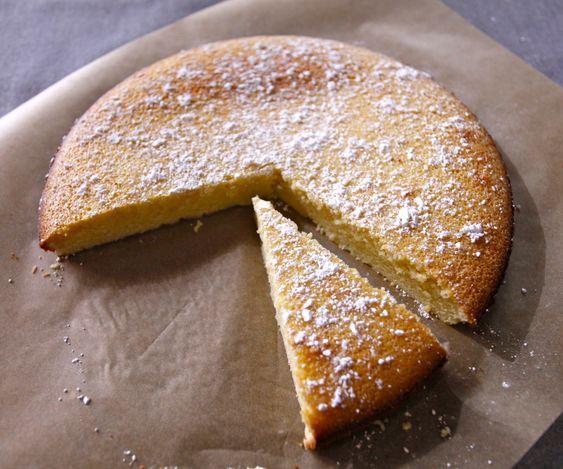olive oil + lemon cake