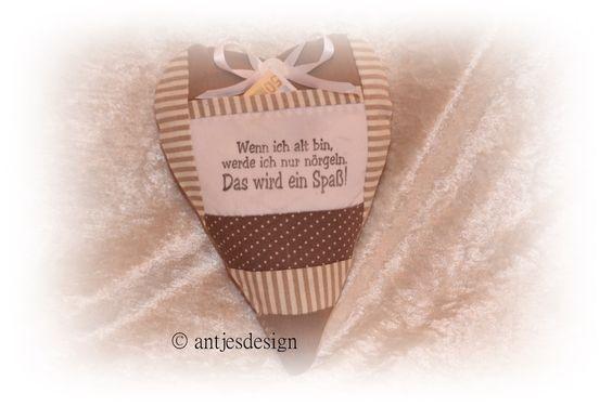 Humorvolles Geldgeschenk Geburstag  Spruch  H von Antjes Design auf DaWanda.com
