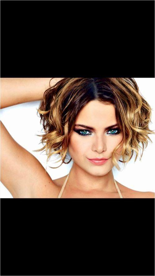 Curly Hair Round Face New Short Hairstyles For Thick Wavy Hair Pinterest Fresh Captivating Pin Di 2020 Rambut Keriting Keriting Mengagumkan