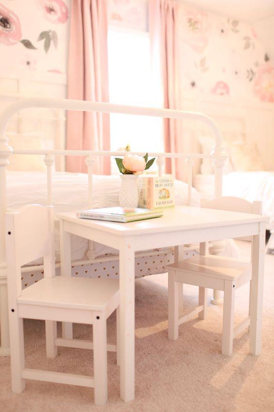 Table in little girls room