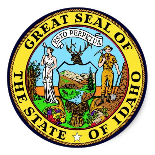 Idaho State Seal Zazzle Com Scholarships For College Student Loan Forgiveness Idaho State