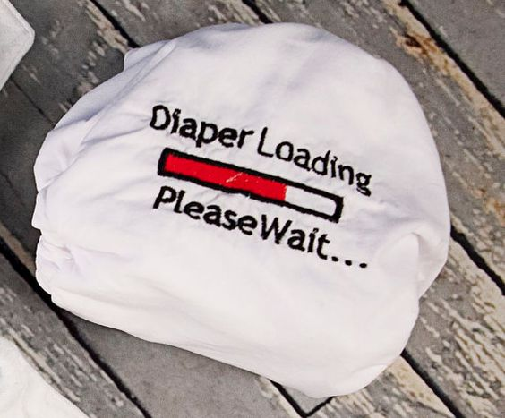 One size snap cloth diaper with adjustable by LittleBeastiesDiaper- Cute!