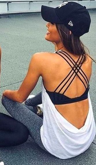 These workout clothes make cute workout outfits!