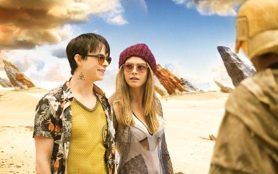 No filme 'Valerian e a cidade dos mil planetas', o visual é mais importante que a história em si (Foto: Divulgação)