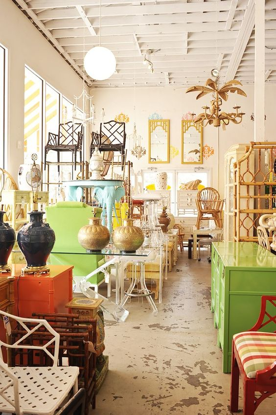 West Palm Beach Antiques Row | The Locals-Only Guide to Palm Beach via @MyDomaine: