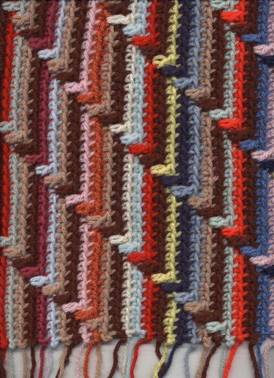 Free Crochet Pattern Navajo Afghan : Pinterest The world s catalog of ideas