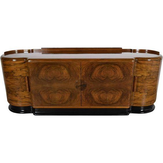 Elegant Art Deco Buffet/Dry Bar