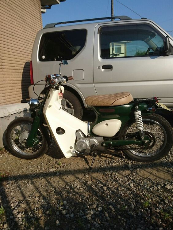#littlecub #streetcub #スーパーカブ #リトルカブ #motobike #motorbike #moto #japstyle