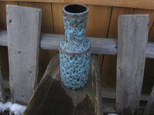 West Germany Lava Art Pottery Steuler Vase