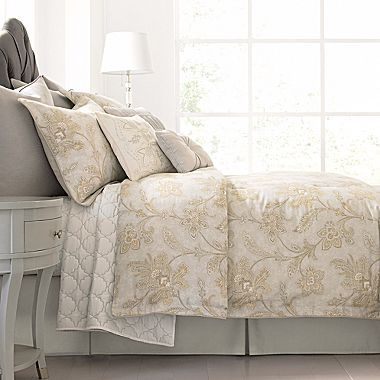 Cindy Crawford Vale Jacobean Comforter Set Jcpenney Bedding Pinterest Beds Jacobean And
